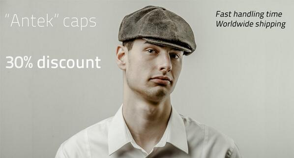 deals - 30% discount on Sterkowski flat caps made with genuine leather.  http   goo.gl r0rjDr pic.twitter.com 4Q1HUeceRh accd2f81ee6