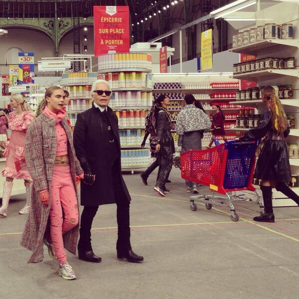 chanel supermarché chanel karl lagerfeld
