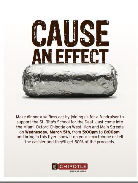 Chipotle. Delta Zeta. What's not to love? Spread the word for an amazing cause!  @mugreeks @MiamiUniversity http://t.co/fGoJ95Qhaf