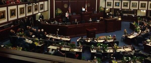 Viewing the start of the '14 #Florida Legislature #FLGov http://t.co/DSDU1JYcRG