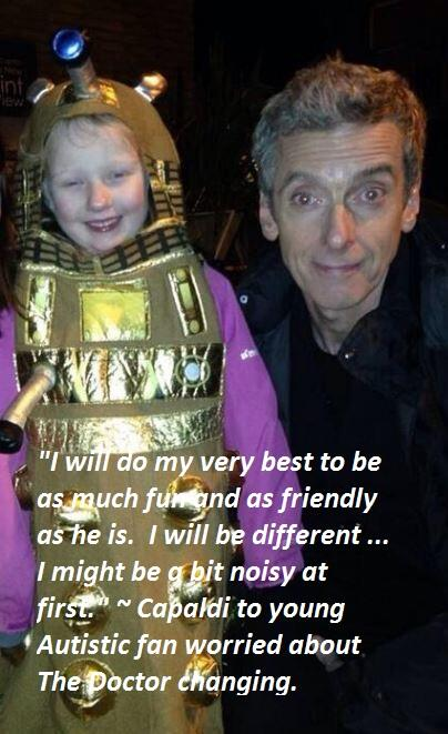 Capaldi's words of comfort to a young autistic fan worried about The Doctor changing:  #DoctorWho http://t.co/VzZnSVcPTk