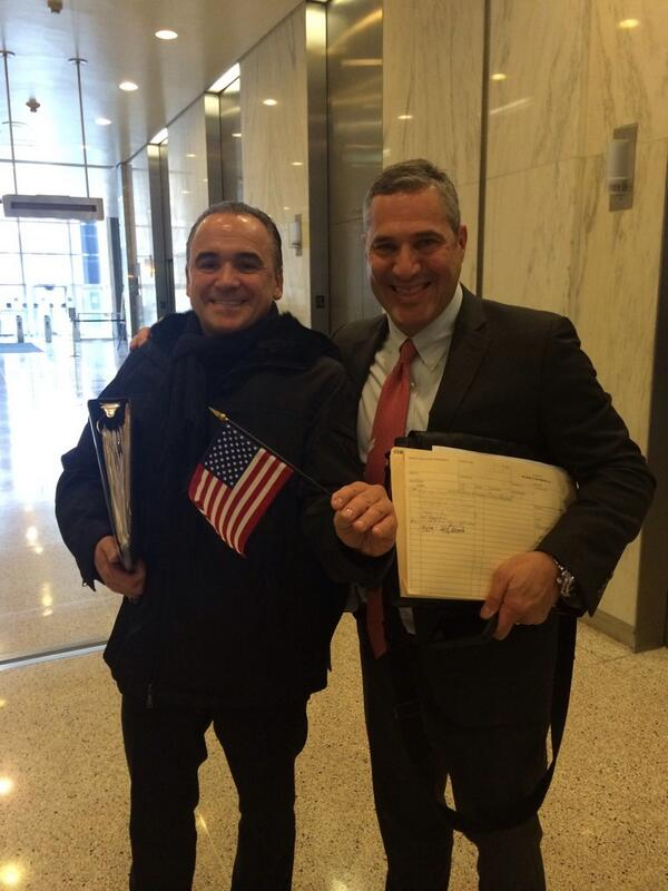 Approved for Citizenship. Thank you to my lawyer Michael Wildes. The American Dream continues! http://t.co/f6BPBOSlhr
