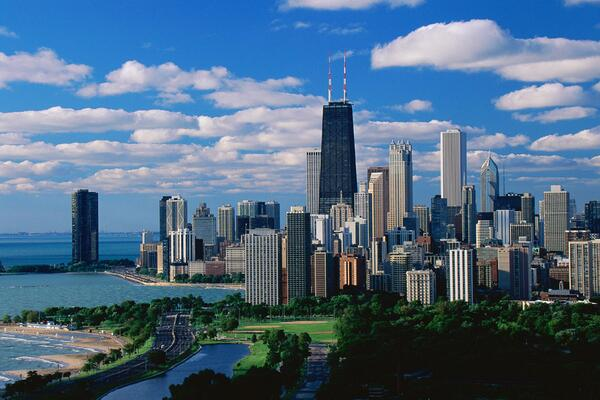 Happy birthday, Chicago! You look amazing at 177! - http://t.co/C55rkbvT4P