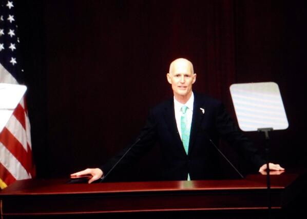 FL Gov Rick Scott delivers the annual State of the State address on Tues in Tallahassee. @TDOnline http://t.co/V7BrSyAd5y