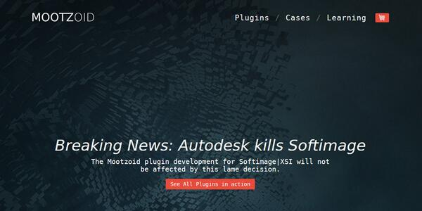 #Softimage Eric Mootz posts some reading material for Autodesk :) http://t.co/DvQMl04n6B http://t.co/kTGIL7UZPZ