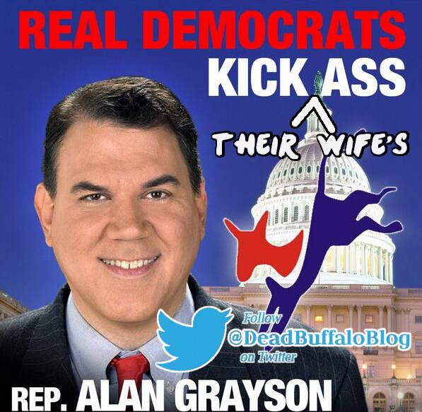 Lolita Grayson wife of Alan Grayson claims he shoved her during domestic incident