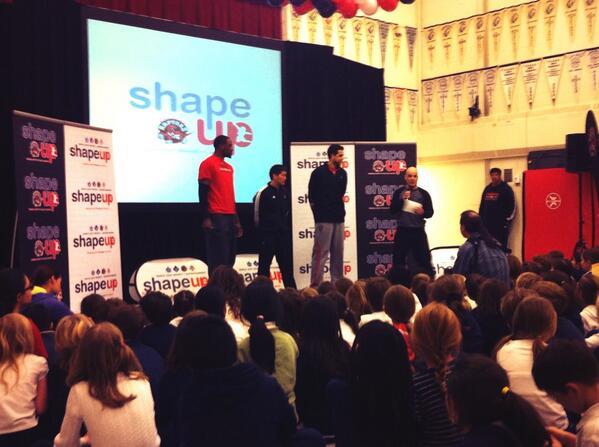 #MLSEShapeUp w/ @pdpatt, @Raptors Strength & Conditioning Coach Jon Lee, & @landryfields! -> http://t.co/AwcVHLg53p http://t.co/equT9SpPbR