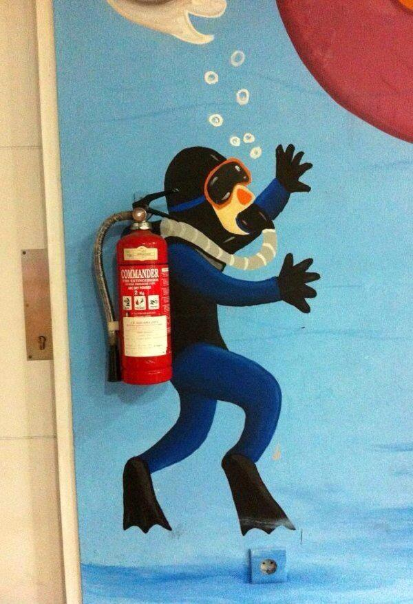 "Well this is amazing ""@JohnDonoghue64: Fire Extinguisher of the Day... http://t.co/TwNciBMn1J"""