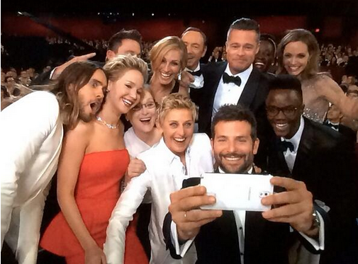 Twitter / networlding: #Oscars2014 was that much better ...