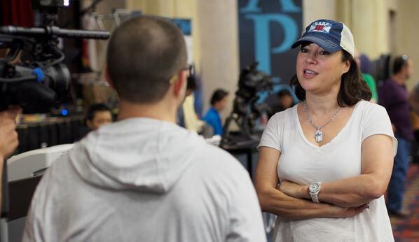 With 49 players left at the @WPT @LAPC the chipleader is actress @Jtillathekilla2. Updates: http://t.co/ojc3dcERv2 http://t.co/71taFsnzE5