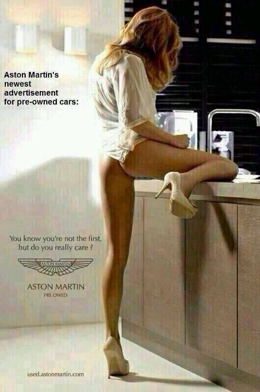 The Inspiration På Twitter Fake Aston Martins Ad You Know You Re Not The First But Do You Really Care Http T Co 3diyhq9t8a