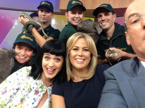 So, @katyperry took this #selfie (& we liked it)  @sunriseon7 http://t.co/9PuI6jxzXT