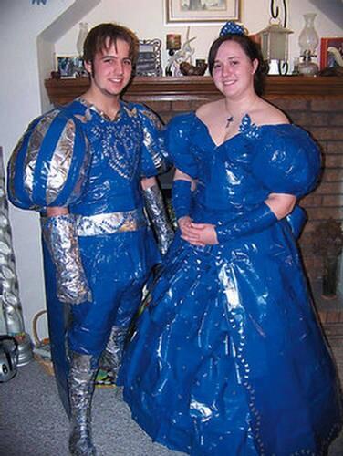 King blue prom dress