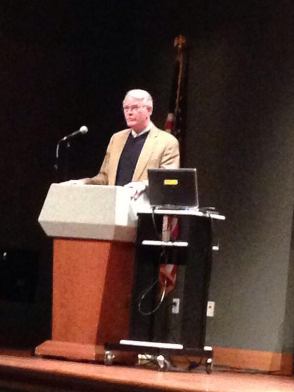 Opening by @MayorLuttrell highlighted importance of government transparency before @genevaoh lecture. #normbrewer http://t.co/w543FZcE8o