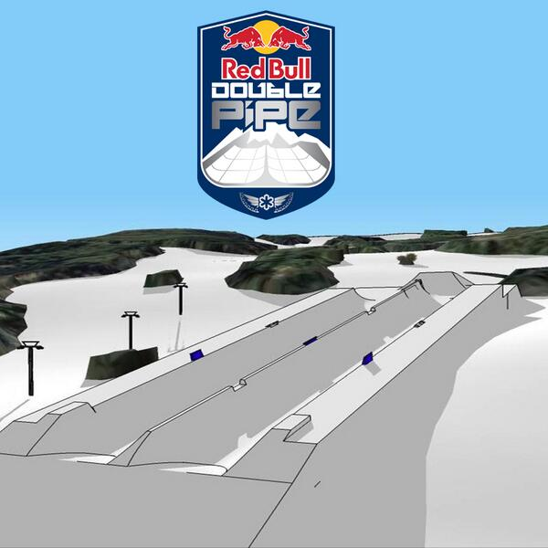 This @RedBull #DoublePipe is going to be some SSX level stuff. http://t.co/NJaZHKP3Zu