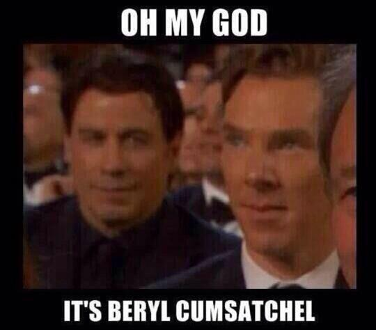 RT @westendproducer: John Travolta spies Sherlock. #dear http://t.co/nSRxEqJxW2