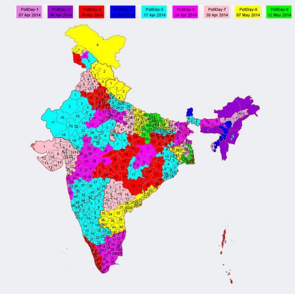 Elezioni India 2014
