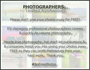 On photography (Please RT) #NoFreePhotos http://t.co/FywXjoKVaQ