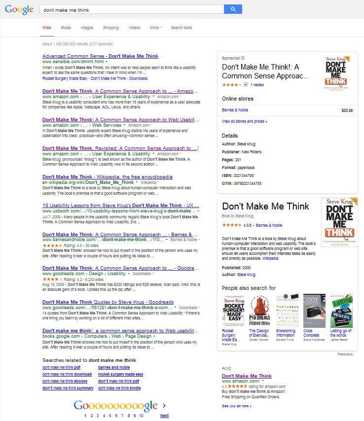 Google testa o Grafo do Conhecimento para Google Shopping PLA