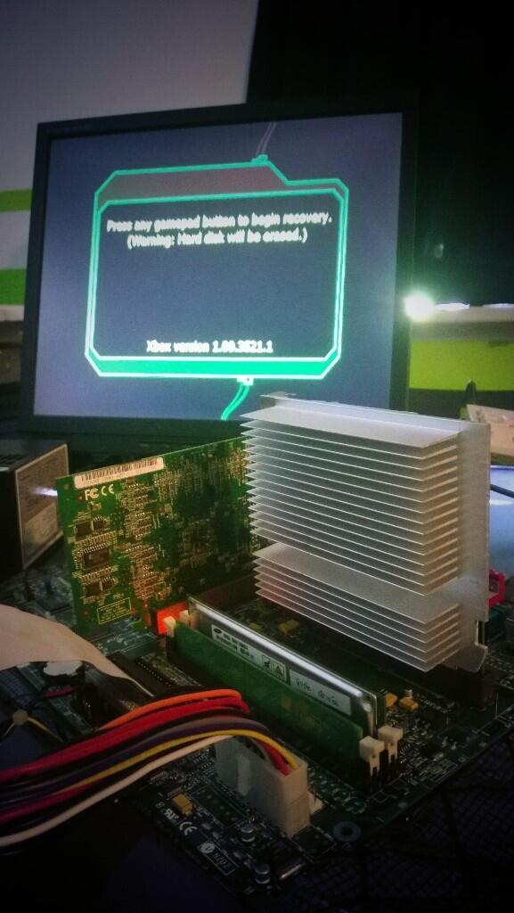 Xbox Alpha running