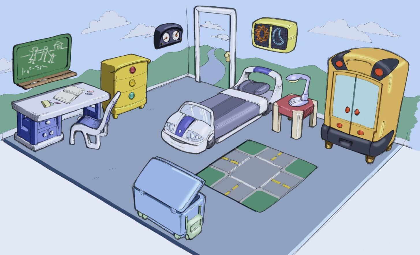 """Imagenes]Los Sims 2 Arte conceptual """"Estaciones"""" y """"Decora tu familia"""" BhA-cy6CUAAIJgT"""
