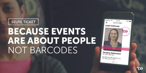 Relationships don't start with barcodes. Build your community. http://t.co/HEQBFH1uEC #selfieticket http://t.co/m9vT2eG06u