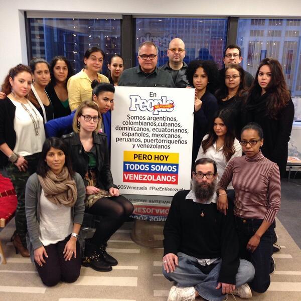@peopleenespanol pide paz para Venezuela http://t.co/r96J2aYa3Y