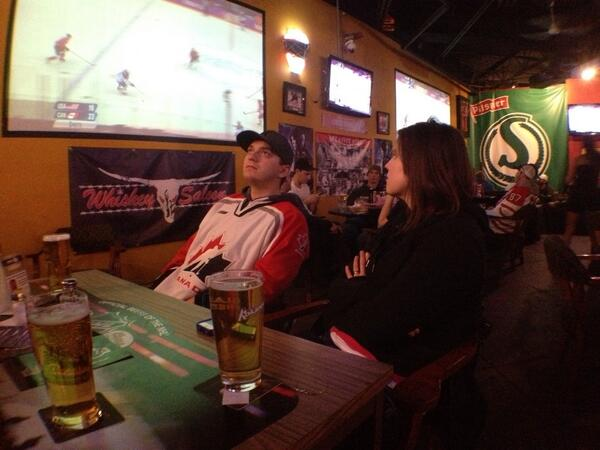 Talking off limits during play for many people here. #skcbc #cbcyxe http://t.co/OeyfaaQ9Pf