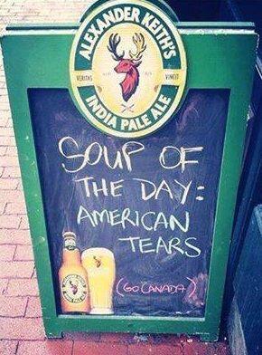 Soup of the Day... #TeamCanada #Sochi2014 #WeAreWinter http://t.co/RWWplUe7ct