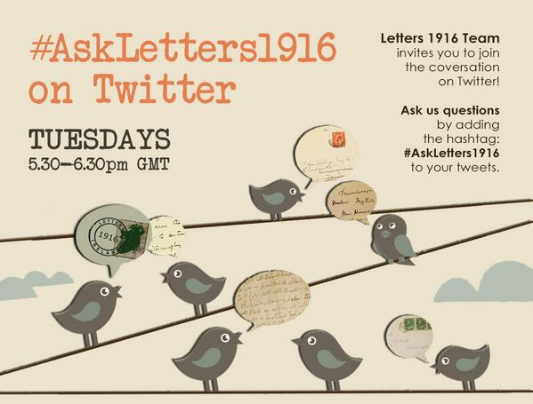 Thumbnail for #AskLetters1916  | 25.02.2014