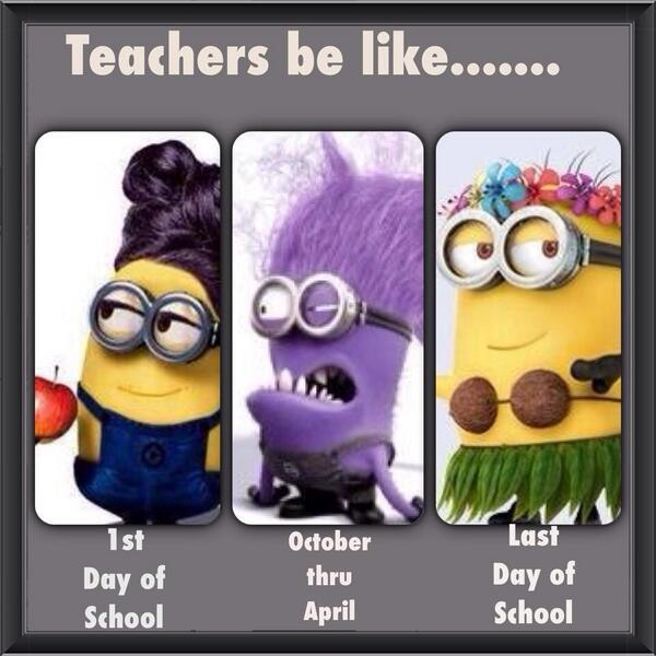 If teachers were minions... http://t.co/tyddDw0EYr