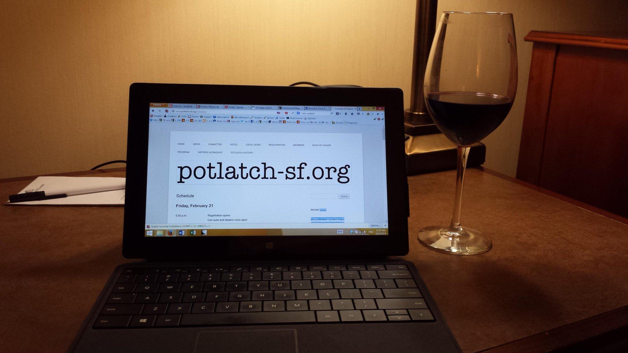 Potlatch speculative fiction convention in san jose
