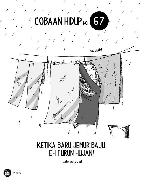 Solusi Cara Mengeringkan Baju Saat Musim Hujan - AnekaNews.net