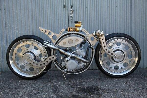 #Bike 🏍️ Awesome of the Day ⭐ ➡️ #Steampunk ⚙️ Skeleton 💀 #Motorbike 🚲 via @mattblackgod #SamaBikes ➡️ View More #SamaCollection 👉 https://t.co/Kugls3IJqU