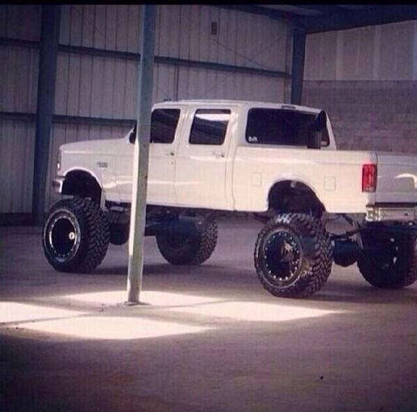 "4x4 Nation on Twitter ""Old school powerstroke Ford"