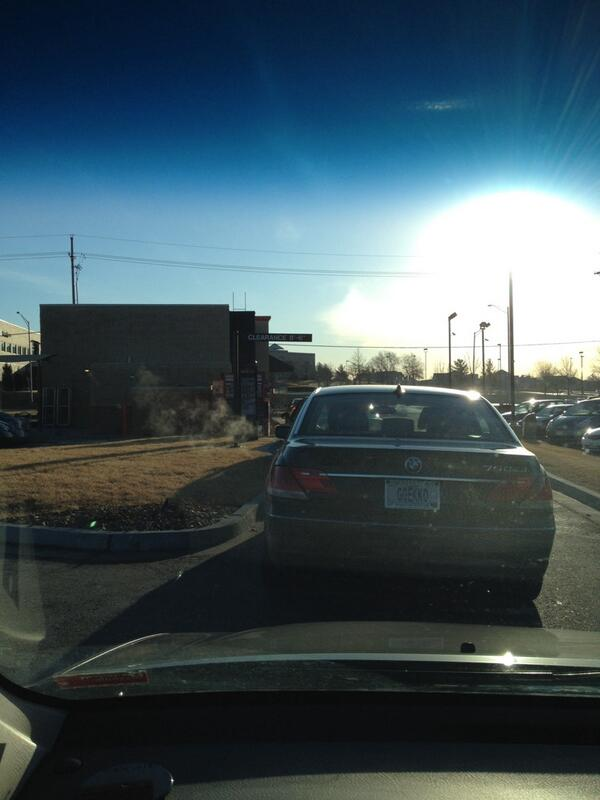 Good morning from the drive thru line at Dunkin Donuts!  #catholicedchat http://t.co/tMi8iwZPBU