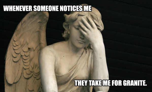 WEEPING ANGEL PROBLEMS. #DoctorWho http://t.co/gWuU74jkaV
