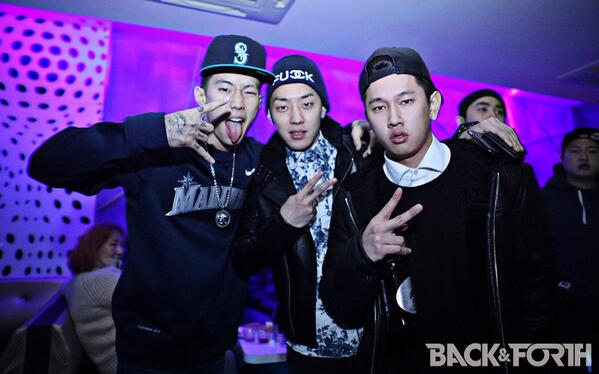 JayPark Gray and Crush! #BacknForth #DoubleK Party http://t.co/4DQiN0ogfP