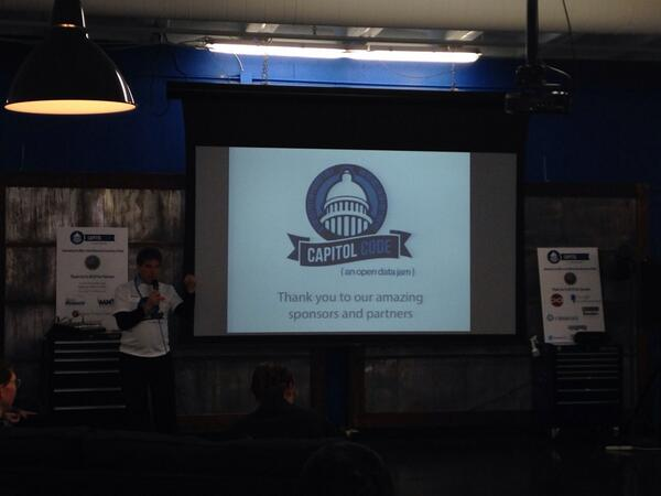@MNSecofState Mark Ritchie welcomes everyone to Capitol Code #OpenData Jam. #Minnesota #OpenGov http://t.co/h8jhRrp7Al