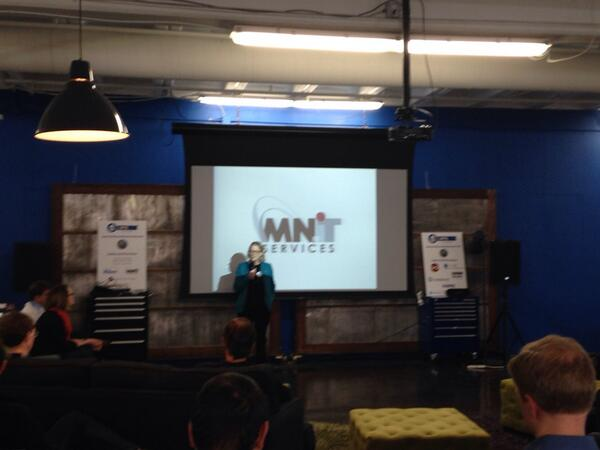 Carolyn Parnell, CIO of the State of Minnesota, continues the warm welcome on this cold morning. #OpenData #OpenGov http://t.co/5HUJH2vRh7