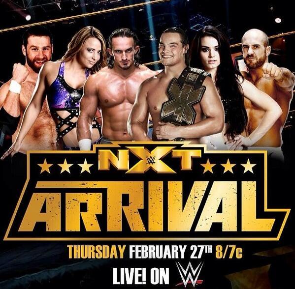 WWE NXT ArRIVAL(27-02-2014) hdtv avi mp3 eng