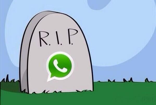 WhatsApp termina tras 10.000.000 de dólares en pérdidas