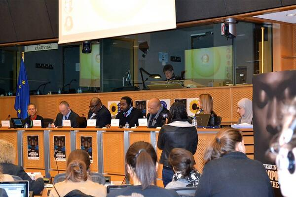 Thursday 20th February, hearing on Afrophobia in the EU  @Jallow_M @LouisGeorgesTin @VirginieSassoon #StopAfrophobia http://t.co/7c4uTmf4yi