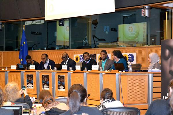 Thursday 20th February, hearing on Afrophobia in the EU with @RokhayaDiallo @Jallow_M @quinsyg #StopAfrophobia http://t.co/Utb60quTp2