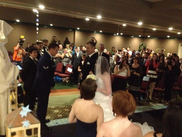 Wedding at pensacon 2014 #pnj  #pensacon http://t.co/PFAmnmyavr