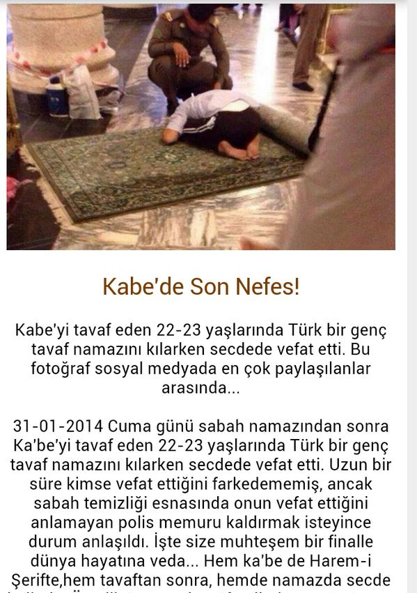 Lutfen bunu herkes duysun, Kabe'de son nefes son namaz. Allah Ekber! http://t.co/OtOJH4uo3P