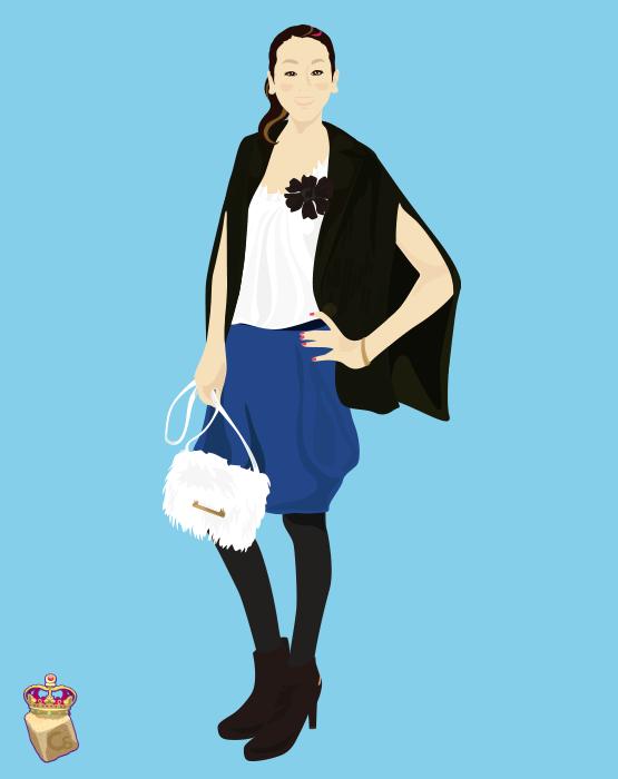 こちらは、2月号の表紙のために描いた浅田真央さんです。ソチの滑りに、感動をいただきました。 http://t.co/Rms2Ljgmfg