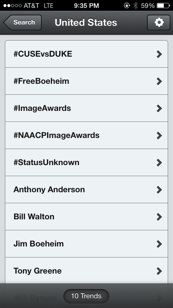#CUSEvsDUKE & #FreeBoeheim are both trending. Well done #OrangeNation http://t.co/slyinhGiu7