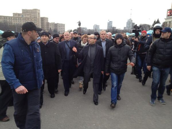Кернес прибыл в Харьков