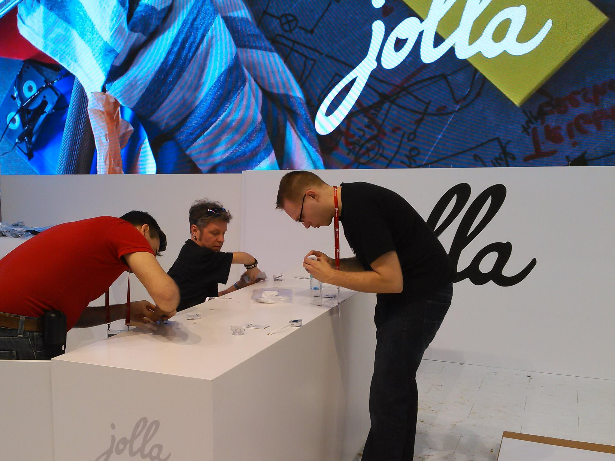Sneak Peak Of Jolla's Booth At MWC 2014